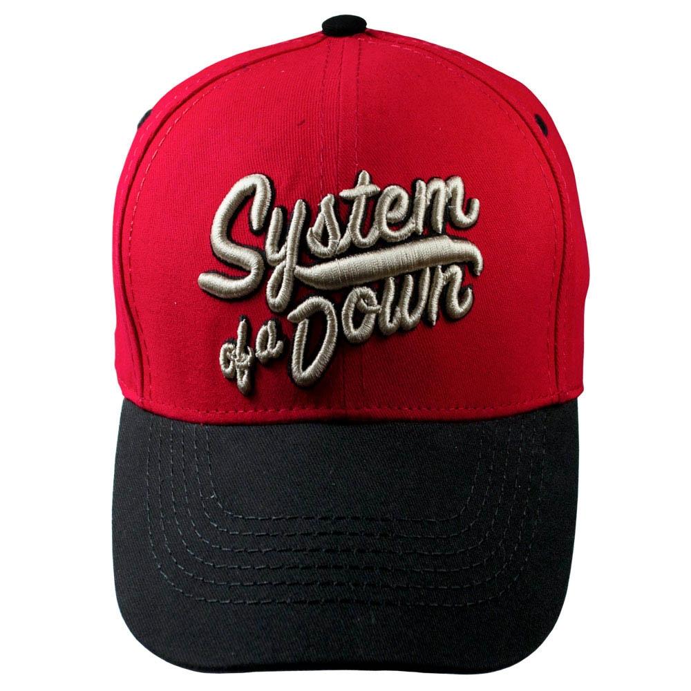 бейсболка SYSTEM OF A DOWN Logo 3D вышивка 0