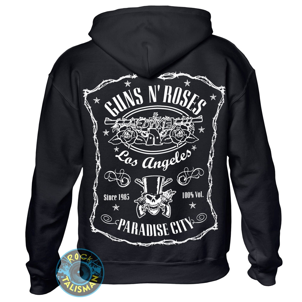 Толстовка Худи GUNS'N'ROSES Logo 0
