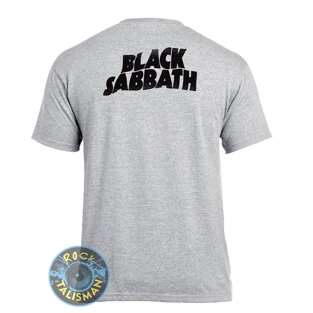 футболка BLACK SABBATH Never Say Die 2 Pilots меланжевая 0