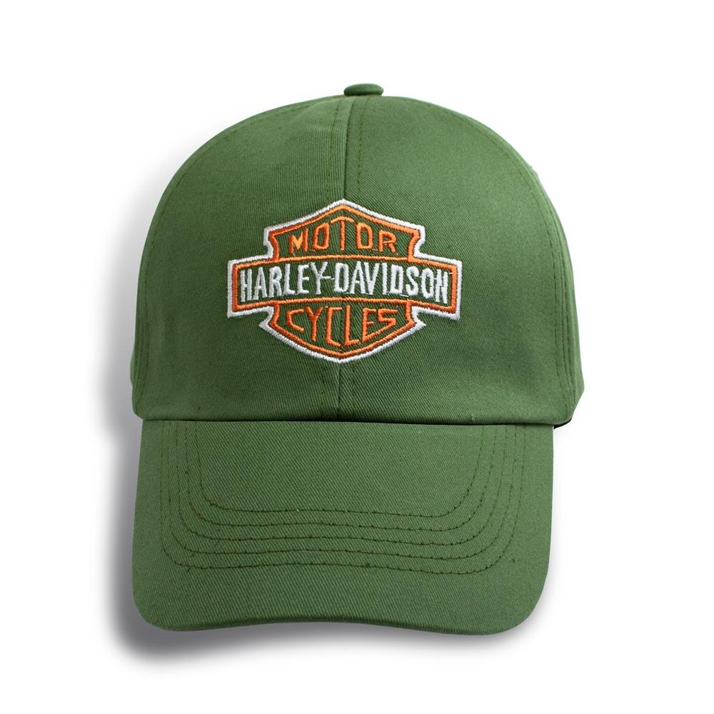 Бейсболка HARLEY DAVIDSON р.60 оливковая 0