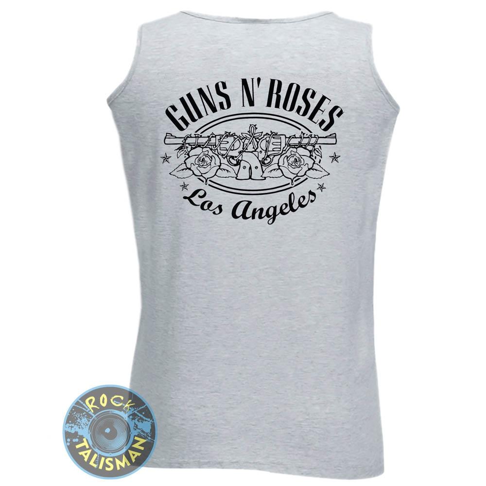 Майка GUNS'N'ROSES Logo меланжевая 0