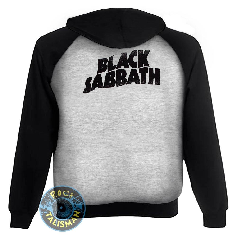 толстовка реглан BLACK SABBATH Never Say Die 2 Pilots светло-серая 0
