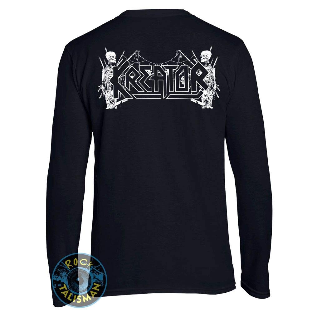 футболка длинный рукав KREATOR Skull and Skeletons 0