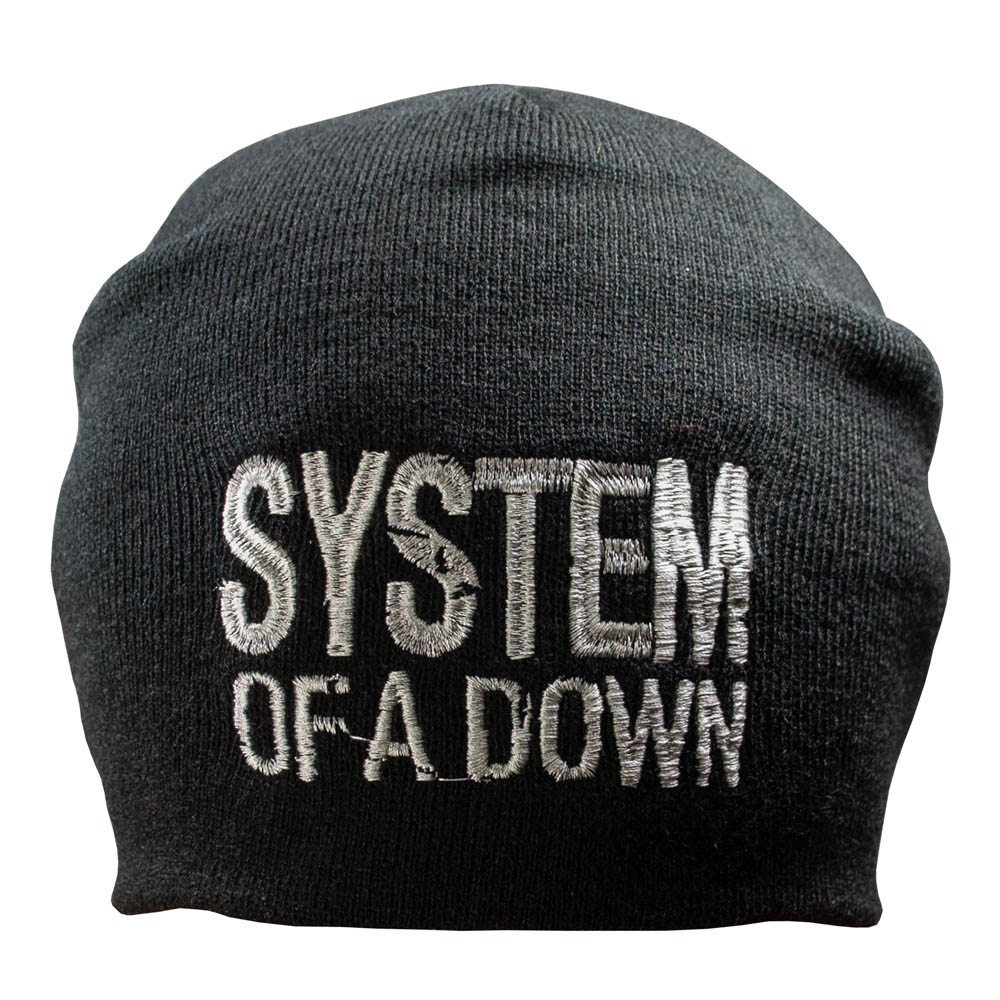 шапка бини с вышивкой SYSTEM OF A DOWN 0