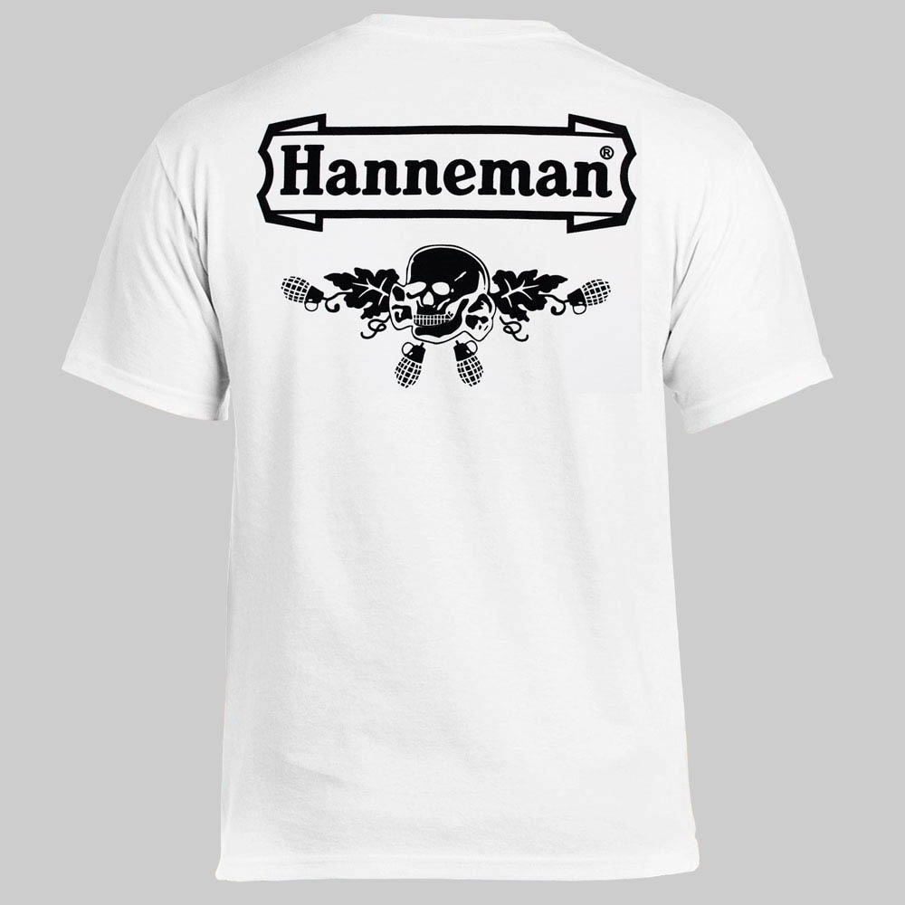 футболка HANNEMAN Logo белая 0