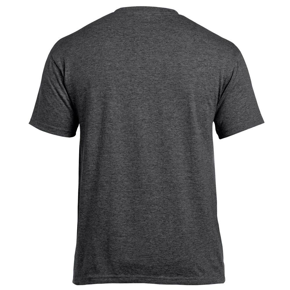 футболка Gildan темно-меланжевая 0