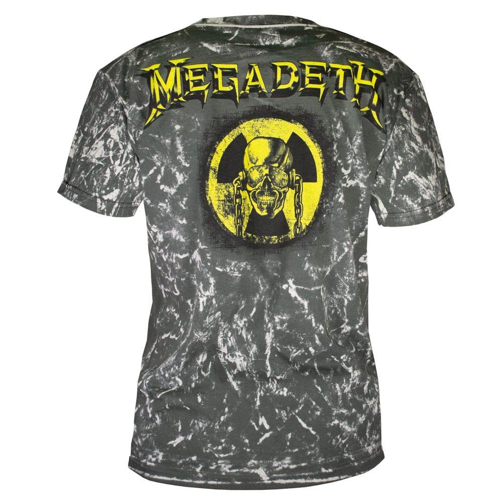 футболка MEGADETH full print 0