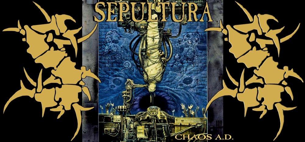 Чашка SEPULTURA Chaos A.D. 0
