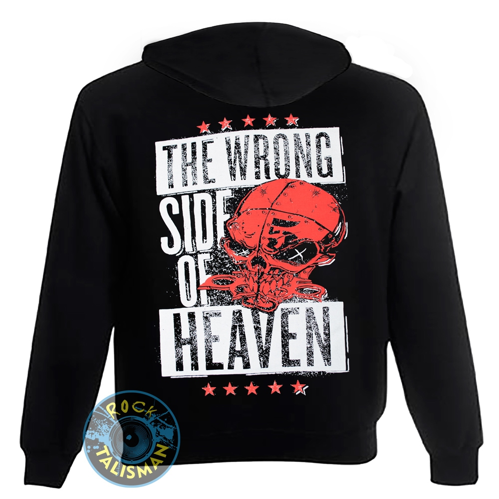 толстовка на змейке FIVE FINGER DEATH PUNCH The Wrong Side Of Heaven 0
