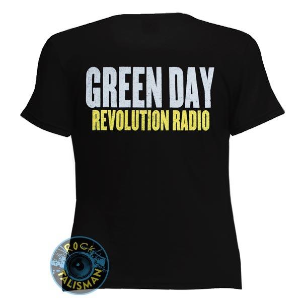 футболка женская GREEN DAY Revolution Radio  0