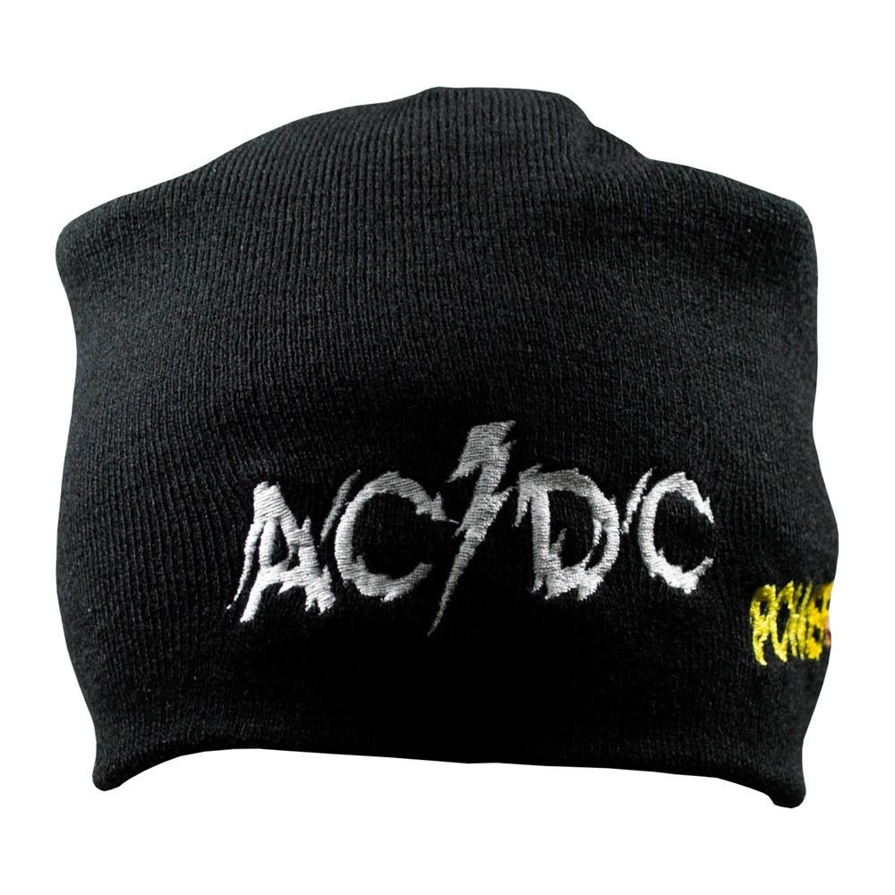 шапка бини с вышивкой AC/DC Powerage 0