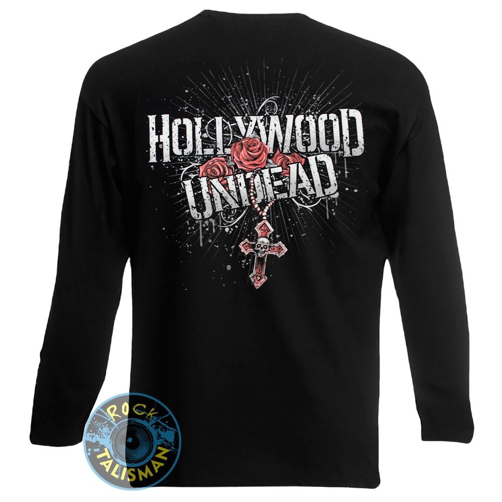 футболка длинный рукав HOLLYWOOD UNDEAD (skulls) 0