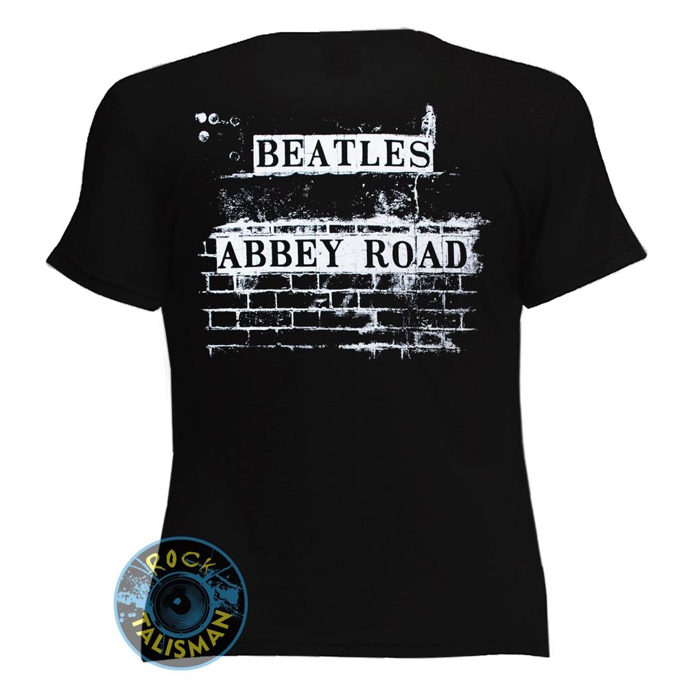 футболка женская BEATLES Abbey Road 0