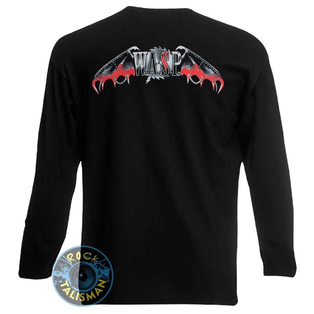 футболка длинный рукав W.A.S.P. Babylon 0