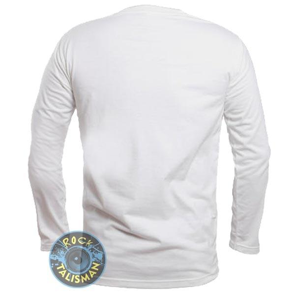 футболка длинный рукав EXPLOITED (лого) белая 0