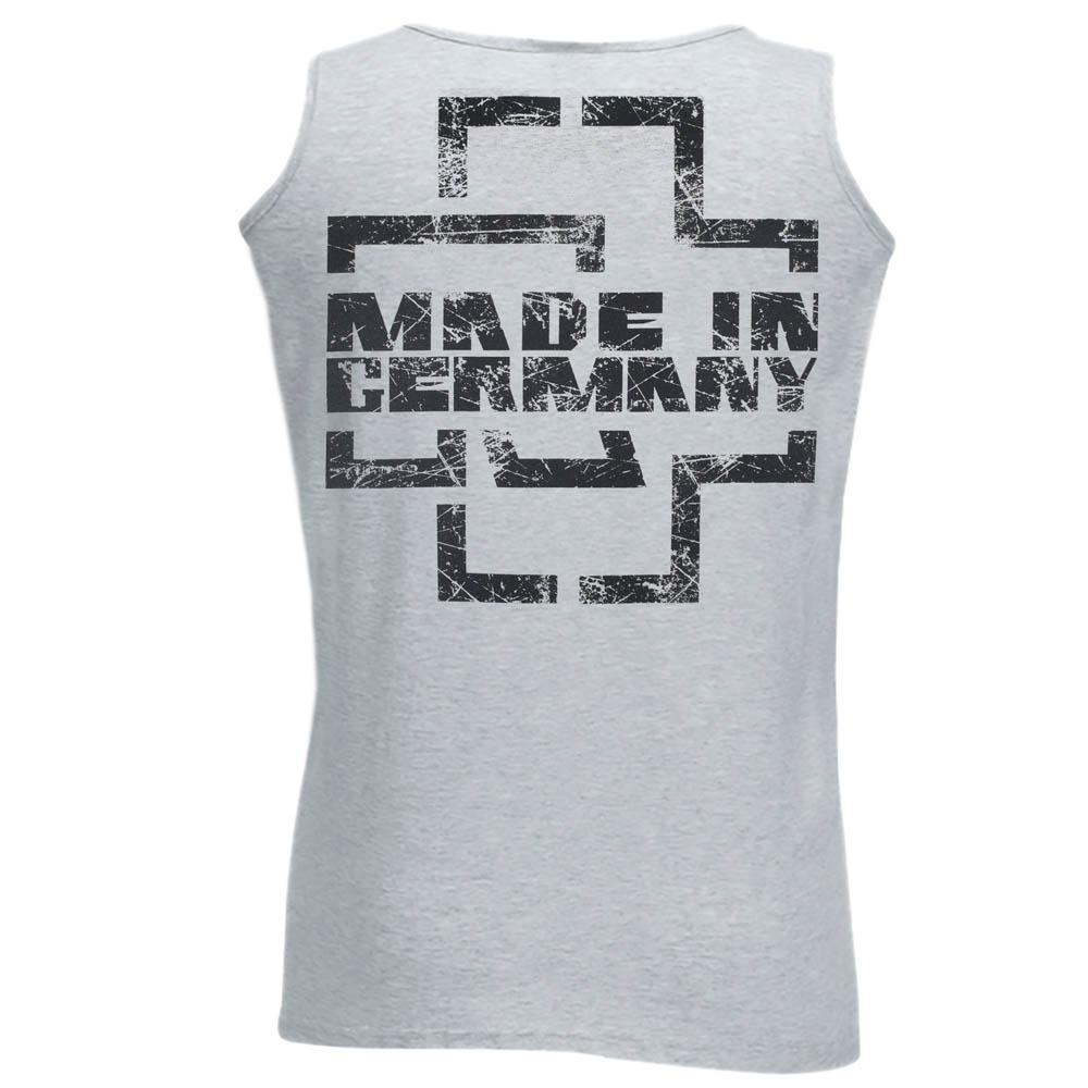 майка RAMMSTEIN Made In Germany меланжевая 0