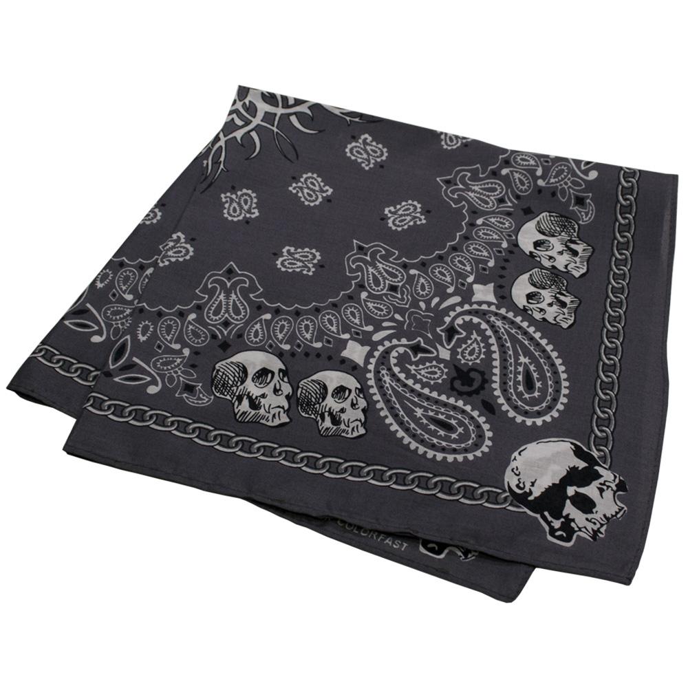 бандана BAN-160 Skulls Gray 0