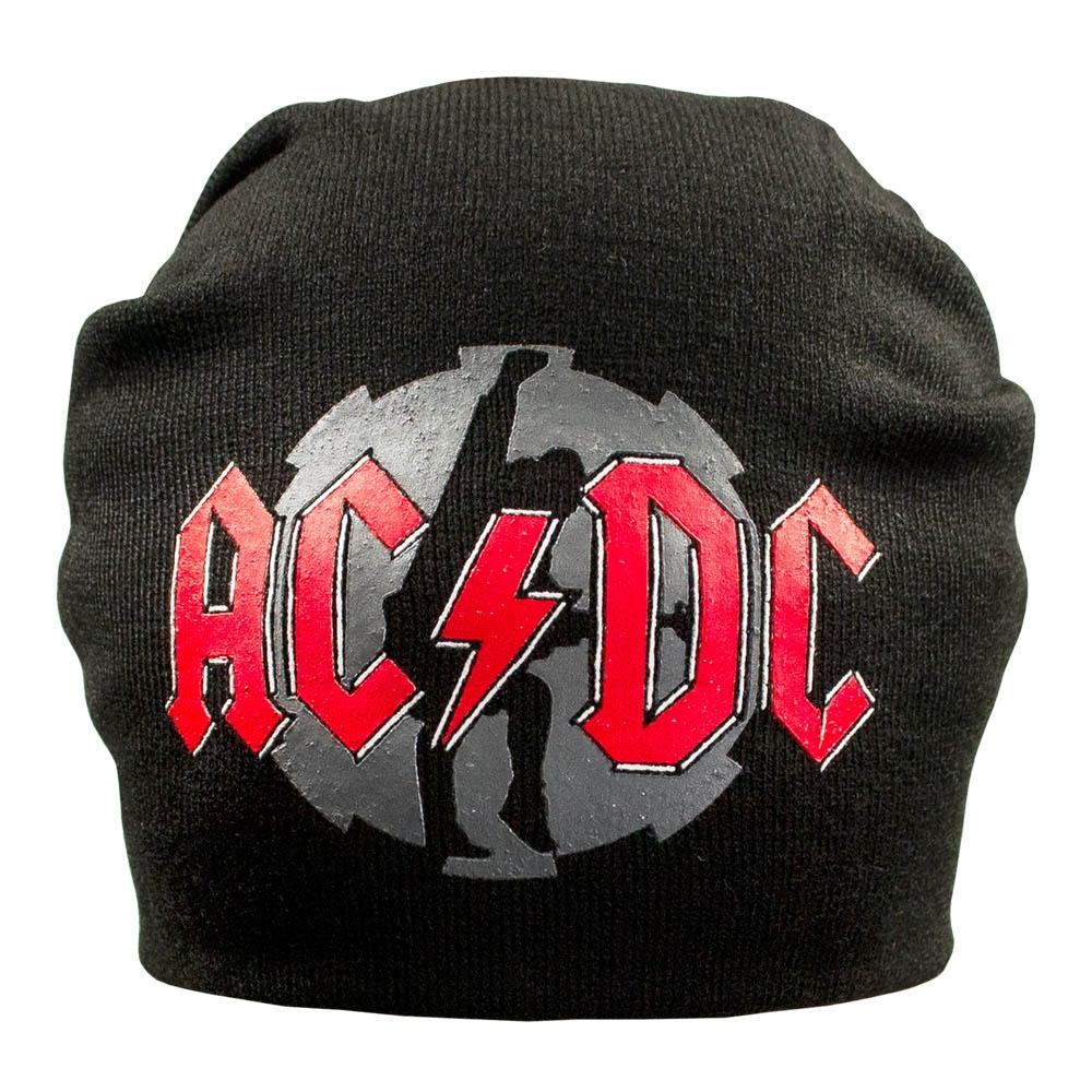шапка бини с принтом AC/DC Black Ice 0
