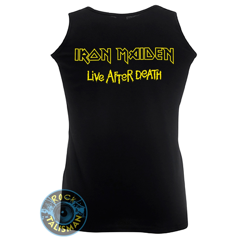 майка IRON MAIDEN Live After Death  0