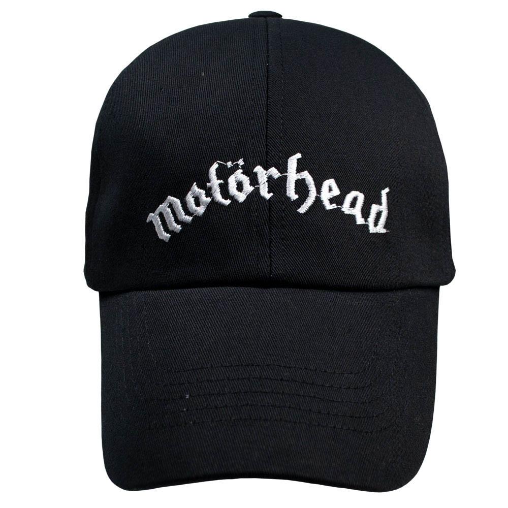 бейсболка MOTORHEAD 2 White Logo 0