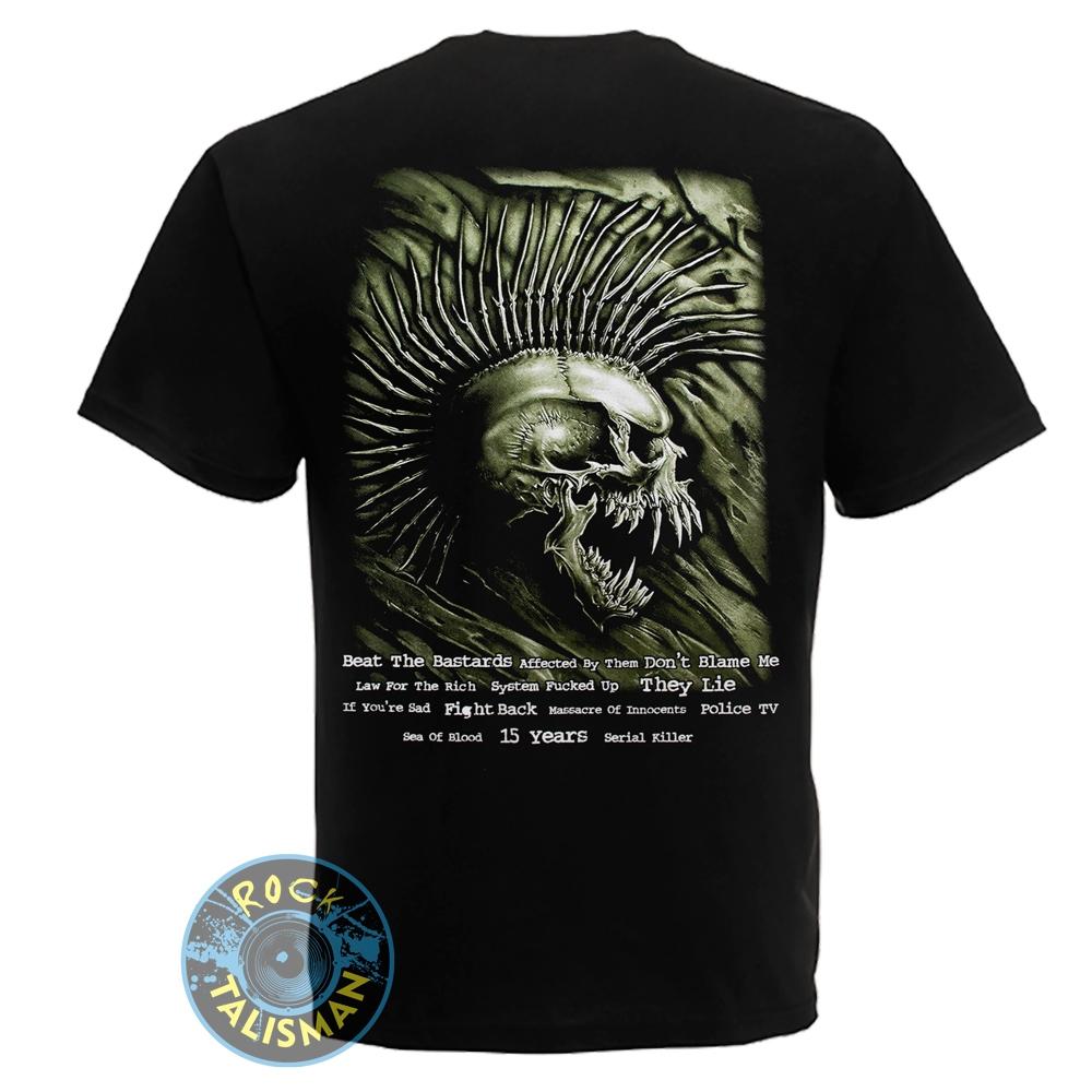 футболка EXPLOITED Beat The Bastards  0