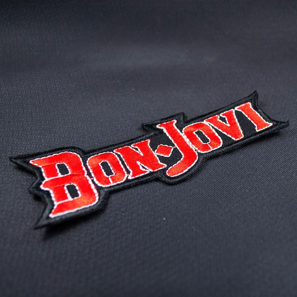 нашивка с вышивкой BON JOVI 0