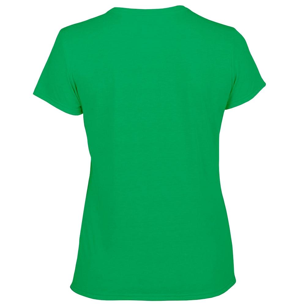 футболка женская Fruit Of The Loom зеленая 0