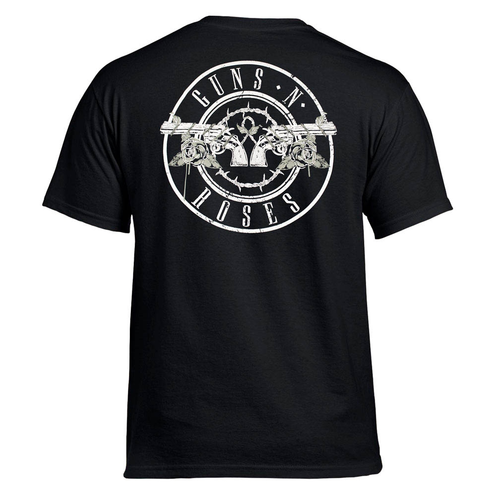 футболка GUNS'N'ROSES 85 Skull 0