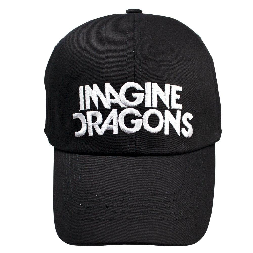 бейсболка IMAGINE DRAGONS White Logo 0