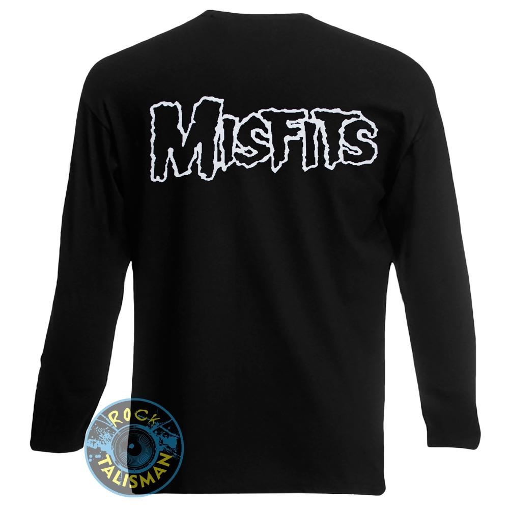 футболка длинный рукав MISFITS Logo 0