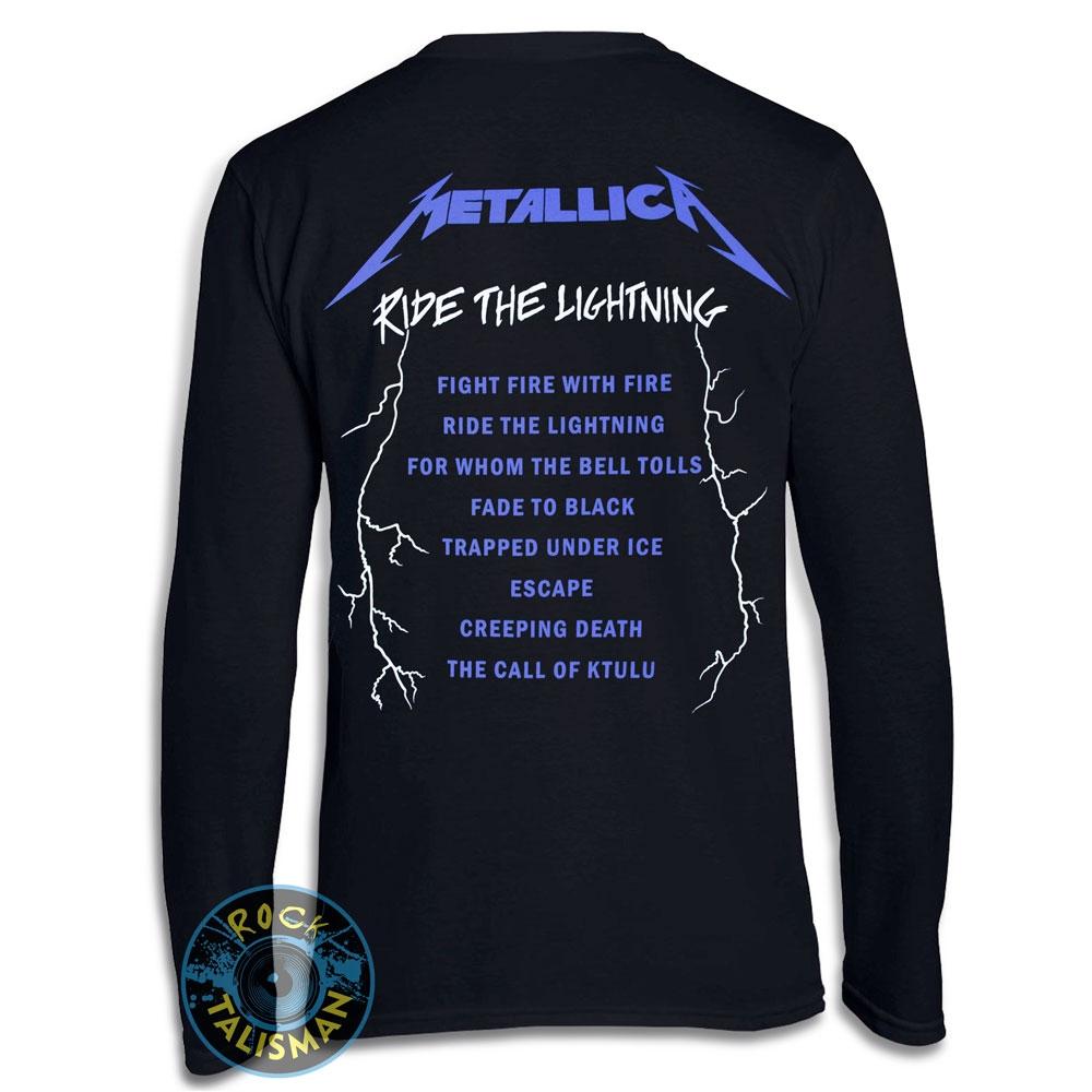 Футболка длинный рукав METALLICA Ride The Lightning 0