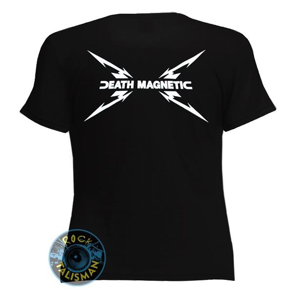футболка женская METALLICA Death Magnetic 0