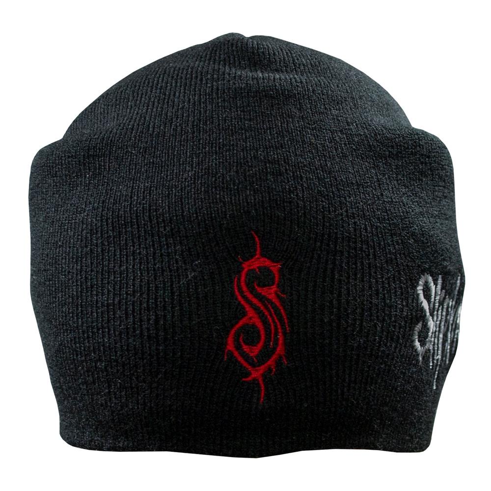 шапка бини с вышивкой SLIPKNOT Logo 0