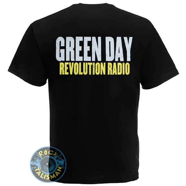 футболка GREEN DAY Revolution Radio  0