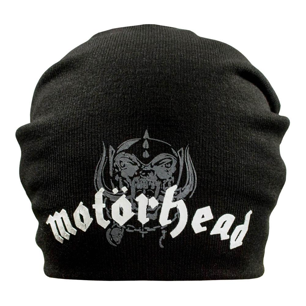 шапка бини с принтом MOTORHEAD 0