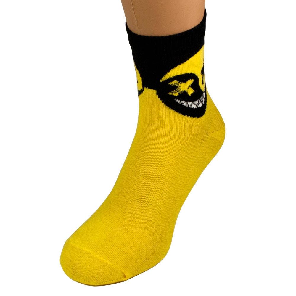 Носки HELL SMILE желтые р38-42 0