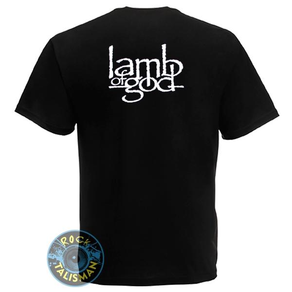 футболка LAMB OF GOD (лого) 0