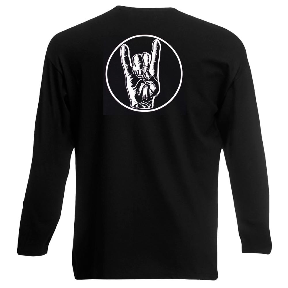 футболка длинный рукав METAL IS FOREVER 0