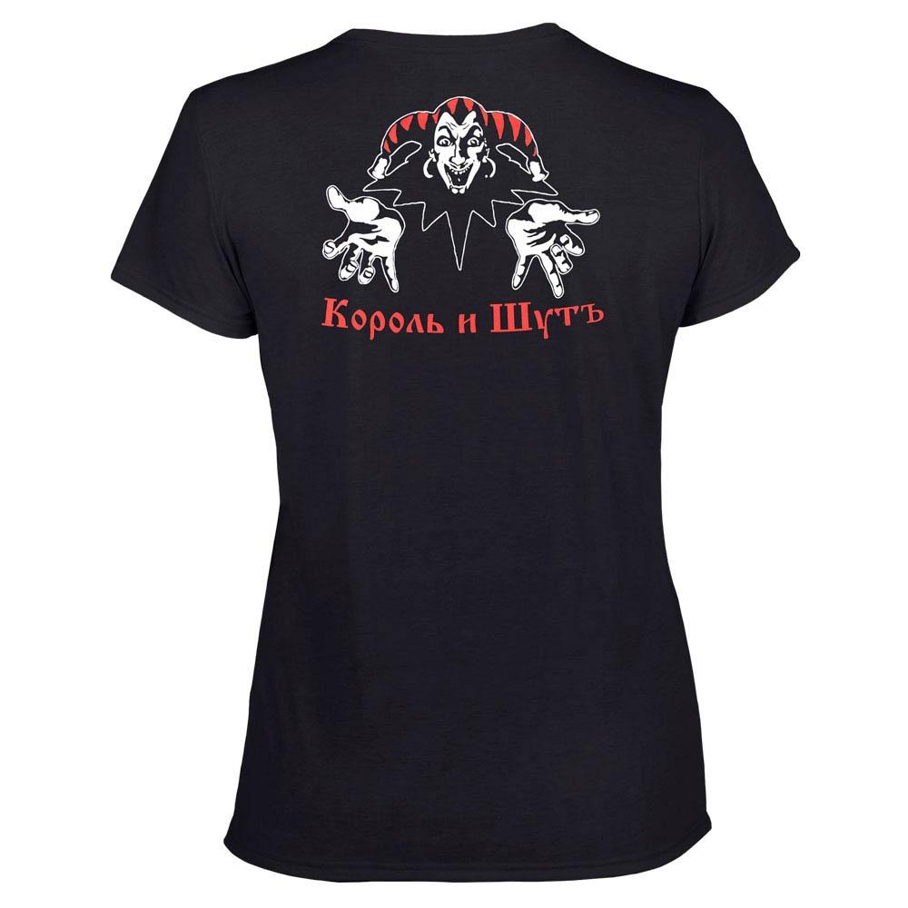 футболка женская КОРОЛЬ И ШУТ Театр демона 0