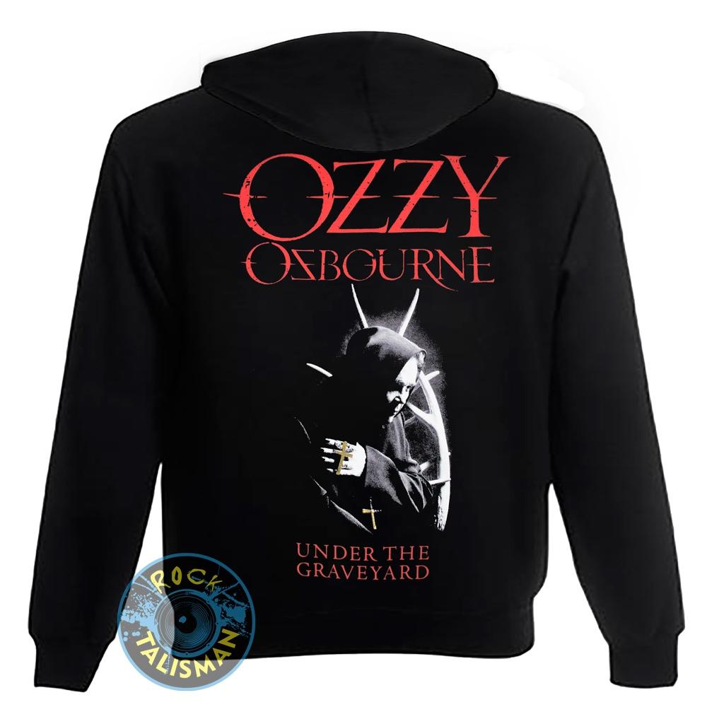 толстовка на змейке OZZY OSBOURNE Under The Graveyard 0