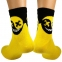 Носки HELL SMILE желтые р38-42 2