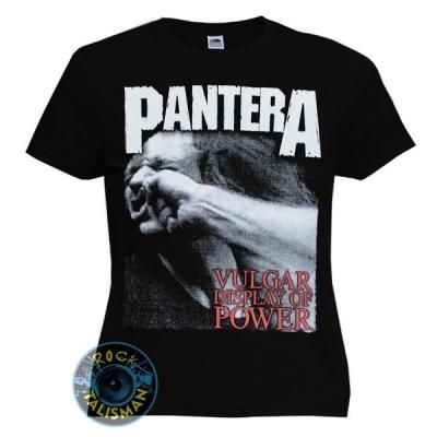 футболка женская PANTERA Vulgar Display Of Power