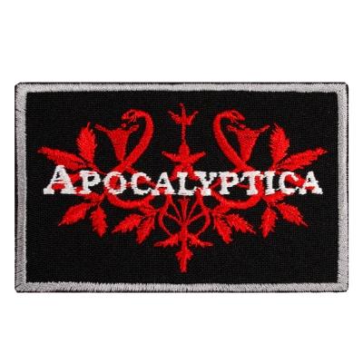 нашивка с вышивкой APOCALYPTICA 2 узор