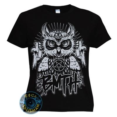 футболка женская BRING ME THE HORIZON Owl сова