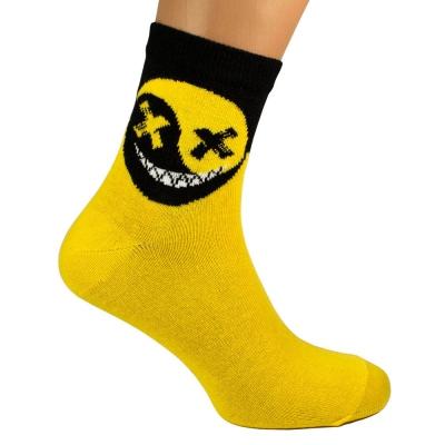 Носки HELL SMILE желтые р38-42