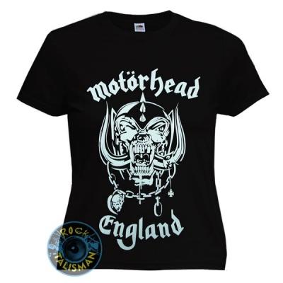 футболка женская MOTORHEAD England