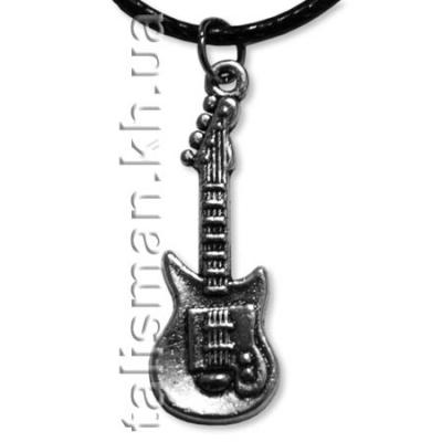 кулон K-126 - Гитара (серебро)