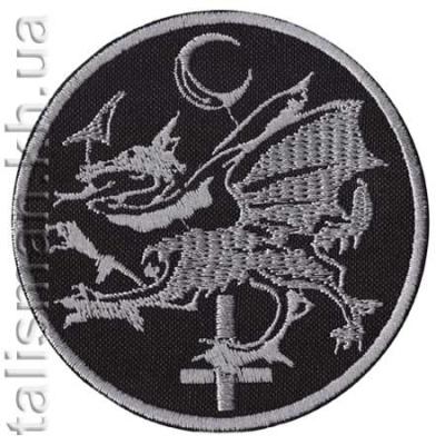 нашивка с вышивкой CRADLE OF FILTH 2 дракон