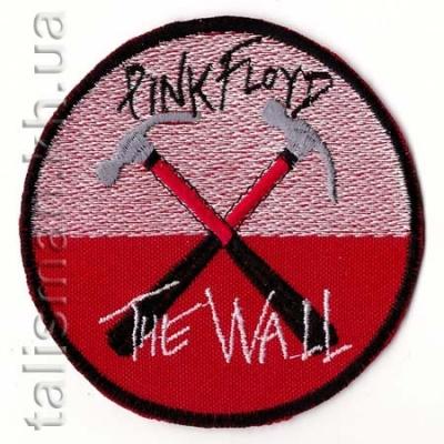 нашивка с вышивкой PINK FLOYD-3 The Wall, круг