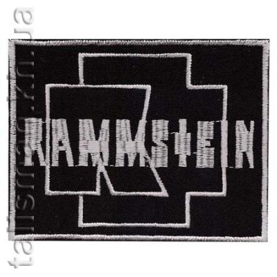 нашивка с вышивкой RAMMSTEIN-2 эмблема